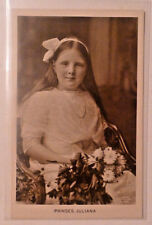 RARE Real Photo Post Card Princess Juliana of The Netherlands at approx. age 10