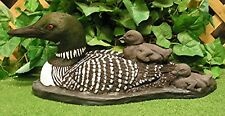 Female Common Loon Bird Decoy Babies Latex Fiberglass Production Mold Concrete