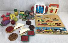 Vintage Toys Bundle: Fisher Price, Tomy, Red Robin Toys