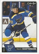 Kevin Shattenkirk #407 - 2016-17 O-Pee-Chee - Base