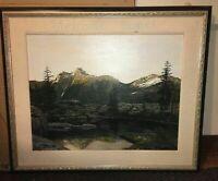 Merrick Kosken Original Oil on Canvas Painting, Framed, Landscape, Nature