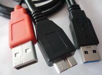 USB 3.0 Y Kabel Adapter micro-B ST Anschlusskabel Y-Kabel externe Fetsplatte