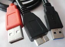 USB 3.0 Y Kabel micro B Stecker Strom Daten Anschlusskabel Delock 82909 HDD