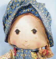 Vintage Holly Hobbie Cloth Doll American Greetings Needs Cleaning
