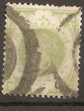 UK-GREAT BRITAIN-1887/00-VICTORIA-1 shilling-SCOTT nr.122-Y&T nr.103(used stamp)
