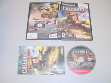 CALL OF DUTY 2 BIG RED ONE (Playstation 2 PS2) Complete ghd