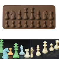 Chess Style Silicone Cake Decorating Moulds Candy Cookies Chocolate Baking Mold