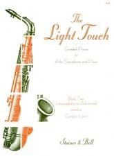LEWIN LIGHT TOUCH Book 2 ALTO SAX & Piano