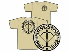 "TSHIRT TAN "" COS "" S/M/L/XL/XXL AFGHANISTAN GCP CRAP RPIMa commando T SHIRT"