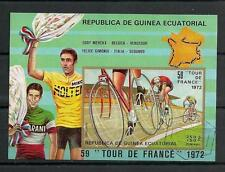 Sports Guinée Equatoriale (13) bloc oblitéré
