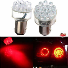 2x Red 1157 BAY15D P21/5W 380 12 LED SMD Car Brake Stop Light Lamp Bulb 12V