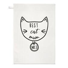 Miglior GATTO MAMMA asciugamani Dish Cloth-Crazy Cat Lady gattino Funny