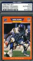 RANDALL MCDANIEL PSA DNA COA Autograph 1989 PRO SET Rookie Authentic Hand Signed
