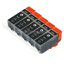 5 Tintenpatrone Druckerpatrone kompatibel zu CANON PGI 525 XL BLACK BK mit Chip