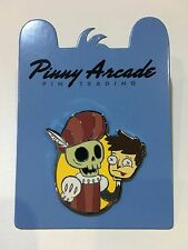 PAX Australia Pinny Arcade 2016 Ironic Yorick pin - Rare Outside Aus!
