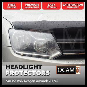 OCAM Headlight Headlamp Protectors for Volkswagen Amarok 2009-Current Lamp Cover