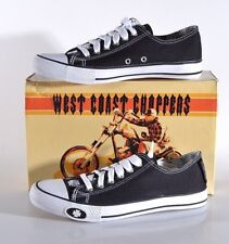 NEW West Coast Choppers Men's 8 MED Jesse James Sneakers Shoes Warrior Lo JWA002