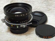 Schneider-Kreuznach Symmar - S 180mm f/5.6 Multicoating Copal # 1 Lens
