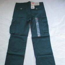 Levi's Boys 569 Cargo Pant Pine Green 91R153 NWT MSRP $44