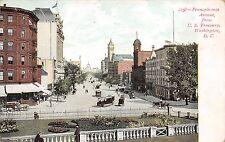 Pennsylvania Avenue From U.S. Treasury Washington DC c1906 Postcard