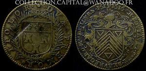 Jeton Noblesse et Villes Charles Boutault Maire de Tours 1615-1616 F8330 Laiton