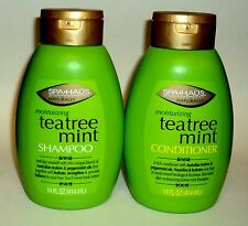 SPA HAUS Naturally Moisturizing Tea Mint Shampoo & Conditioner 14 oz/414mL each