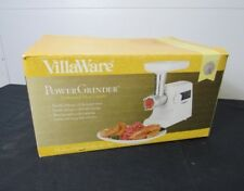 VillaWare Power Meat Grinder Model 5265-05 320 Watts
