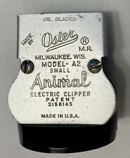 Vintage OSTER MODEL A2 Small Animal Electric Clipper Detachable Head Only