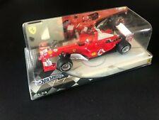 MICHAEL SCHUMACHER Hot wheels Mattel Ferrari F1 Team 1/24 Die castunopened