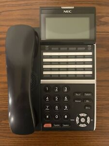 NEC ITZ-24D-3(BK)TEL IZV(XD)W-3Y(BK) DT800 Series IP Phone 100% Functional WRNTY