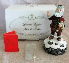 1990 Duncan Royal 1St Event Edt History Santa Claus Figure Wind Up Music W/Box