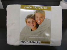 Gözze Kuscheldecke Kuschel Feeling in zwei Größen Einfarbig Uni