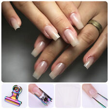 C Curve Nail Pinching for Nail Tips Extended Stainless Steel Nail Finger Clips