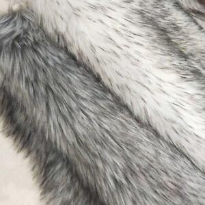Dyed Faux Fur Fabric Raccoon Plush Sheet Patchwork DIY Clothing Hat Sewing Craft