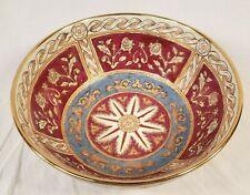 "New ListingAndrea by Sadek Hand Painted Decorative Porcelain Bowl ~ 10"""