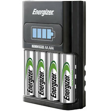 Energizer  LCD 1 HOUR Fast Charger for AAA AA , 4 x AA 2300mAh Batteries Free