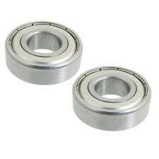 6202Z Dual Metal Shields Pair Deep Groove Radial Ball Bearing 15 x 35 x 11mm DT