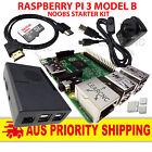 Raspberry Pi 3 Model B - Premium NOOBS Pack 16GB USB Switch 2.5A Power Supply