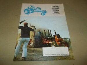 Vintage September 1973 The Puller Magazine NTPA Tractor Pulling Motorsports !