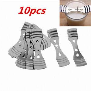 10pcs Metal Candle Wicks Centering Hole Clips Device Making Holder Supplies Tool