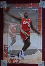 2003 Starline Basketball Poster ~ LEBRON JAMES Cleveland Cavaliers FIRST Game