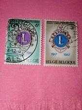 STAMPS - TIMBRE - POSTZEGELS - BELGIQUE - BELGIE 1967  NR.1404/05 (ref.1555)