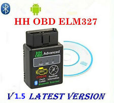 V1.5 OBD2 II Car Bluetooth Diagnostic Interface Android Scan Scanner Tool ELM327