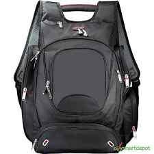"Black Zippered elleven™ TSA Check Point Friendly 17"" Computer College Bac"