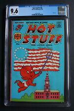 HOT STUFF the Little Devil 136 Harvey File 1976 Bi-Centennial FLAG cover CGC 9.6