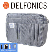 [NEW] Delfonics Limited Material Denim Hickory pattern Inner Bag size M CA83
