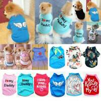 Pet Dog Cat Clothes Puppy T Shirt Clothing Small Dogs Chihuahua Vest Summer NEW