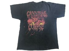 Cannibal Corpse Shirt Thrashed Awesome Fade