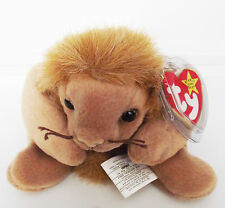 TY BEANIE BABY ROARY PVC 8 ERRORS 4TH GEN SWING 5TH TUSH RETIRED CANADIAN NEW