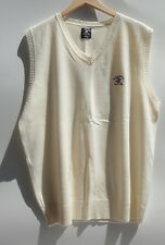 Beverly Hills Polo Club Ivory Men's Vest Size-L-New